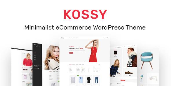 Kossy v1.9 - Minimalist eCommerce WordPress Theme