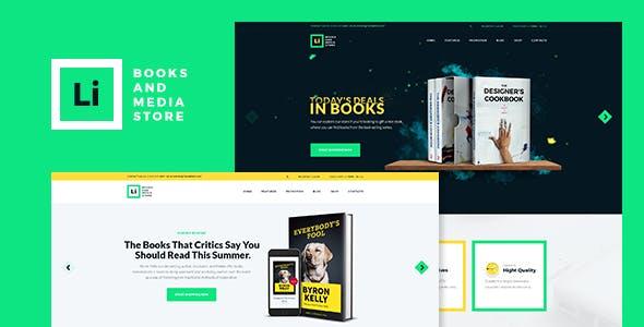 Lorem Ipsum   Books & Media Store WordPress Theme