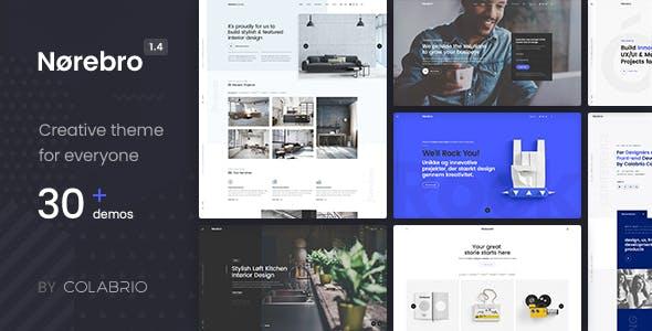 Norebro v1.4.1 - Creative Multipurpose WordPress Theme