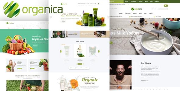 Organica v1.5.1 - Organic, Beauty, Natural Cosmetics