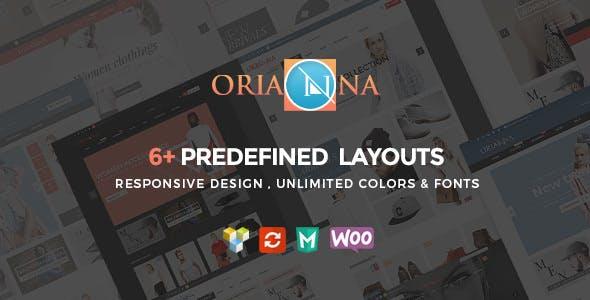 Orianna v1.4.2 - Responsive WooCommerce Fashion Theme