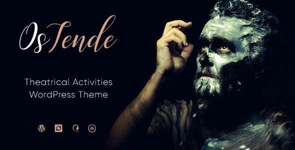 OsTende v1.1.1 - Theater WordPress Theme