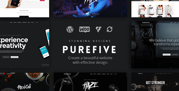 Purefive v1.0.5 - Multipurpose, Multiconcept Theme