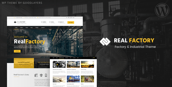 Real Factory v1.3.2 - Factory / Industrial / Construction