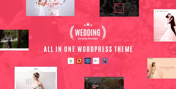 Wedding v1.5 - All in One WordPress Theme