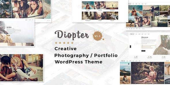 Diopter v1.1 - Creative Responsive Photography / Portfolio WordPress Theme