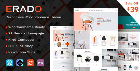 Erado v1.2 - eCommerce WordPress Theme