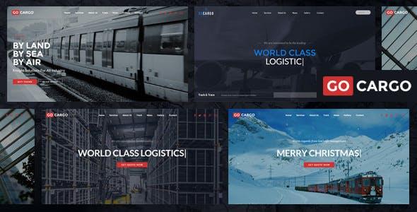 GoCargo v1.9.1 - Freight, Logistics & Transportation WordPress Theme