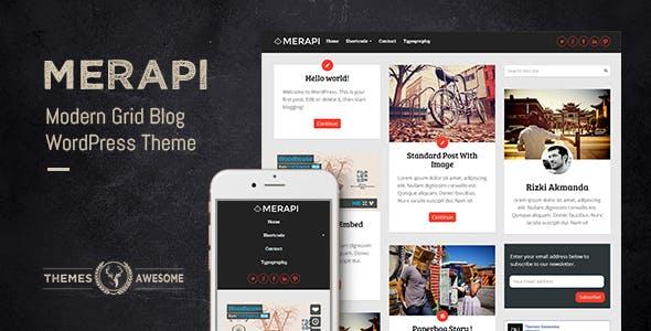 Merapi v1.6 - Modern Grid Blog Theme