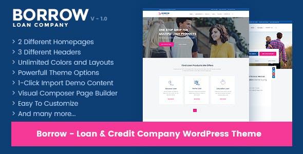 Borrow v.1.4.6 - Loan Company Responsive WordPress Theme