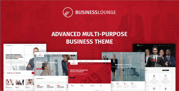 Business Lounge v1.8 - Multi-Purpose Business & Consulting Theme
