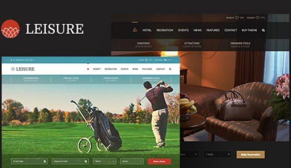 Hotel Leisure v2.1.10 - Hotel WordPress Theme