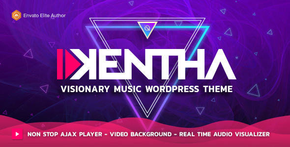 Kentha v1.6.2 - Visionary Music WordPress Theme
