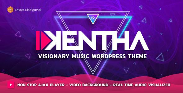 Kentha v1.6.3 - Visionary Music WordPress Theme