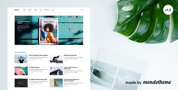 Magsy v1.3 - Modular Magazine & Blog Theme