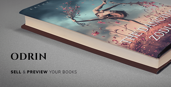 Odrin v1.2.5 - Book Selling WordPress Theme for Writers and Authors