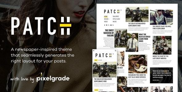 Patch v1.4.4 - Unconventional Newspaper-Like Blog Theme