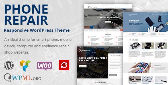 Phone Repair v1.9.1 - Mobile, Cell Phone and Computer RepairWordPress Theme