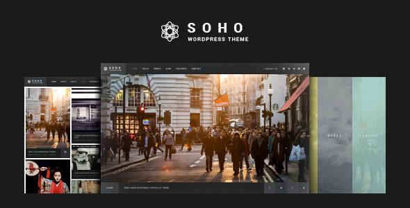 SOHO v2.6.5.9 - Fullscreen Photo & Video WordPress Theme