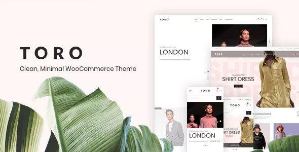 Toro v1.0.5 - Clean, Minimal WooCommerce Theme