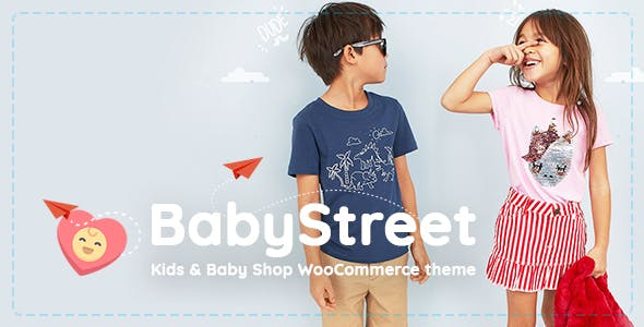 BabyStreet v1.2.1 - WooCommerce Theme for Kids Stores and Baby Shops Clothes and Toys
