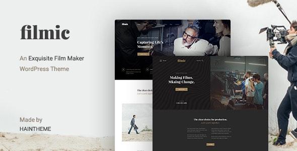Filmic v2.3 - Movie Studio & Film Maker WordPress Theme