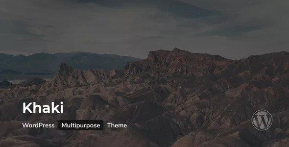 Khaki v2.0.3 - Responsive Multi-Purpose WordPress Theme