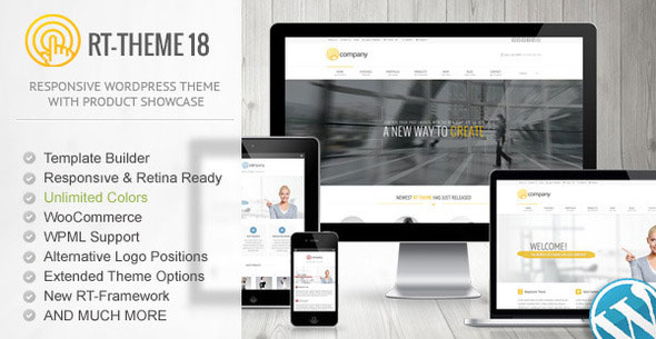 RT-Theme 18 v1.9.9.6 - Responsive WordPress Theme