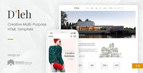 D'leh v1.0 - Creative Multi-Purpose HTML Template