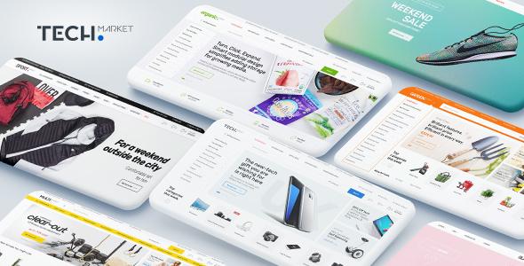 Techmarket v1.4.1 - Multi-demo & Electronics Store Theme
