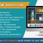 AX Social Stream v3.6.8 WordPress Plugin