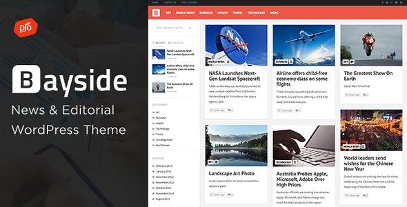 Bayside v2.0.0 - Responsive WordPress Theme