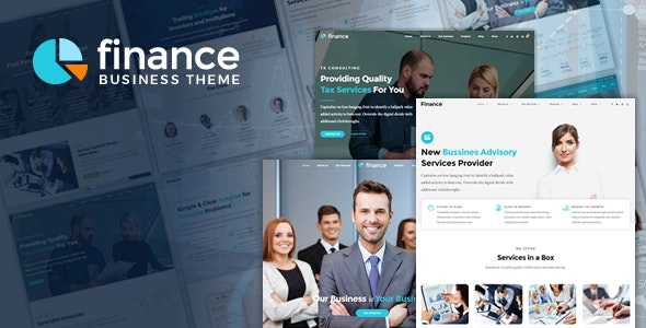 Finance v1.2.3 - Accounting & Consulting WordPress Theme