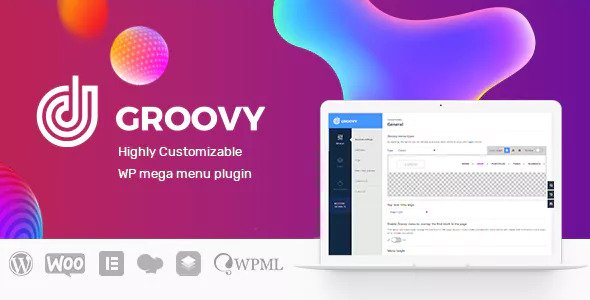 Groovy Menu v1.8.11 - WordPress Mega Menu Plugin
