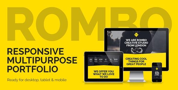 Rombo v3.0 - Responsive Multipurpose Portfolio Muse Template