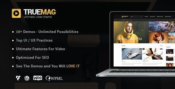 True Mag v4.3.1 - WordPress Theme for Video and Magazine