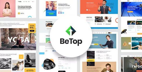 BeTop v1.0.8 - Coaching & Speaker WordPress Theme
