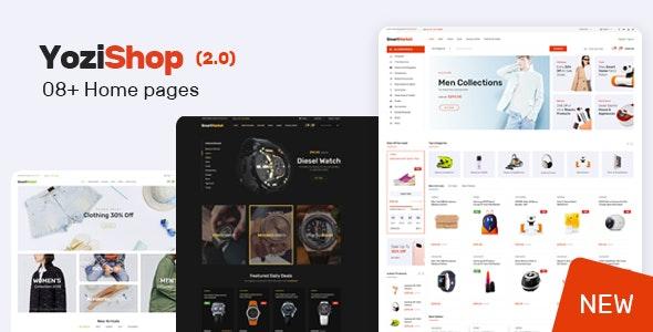 Yozi v2.0.120 - Multipurpose Electronics WooCommerce Theme