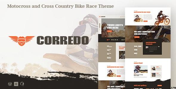 Corredo v1.1.2 - Bike Race & Sports Events WordPress Theme