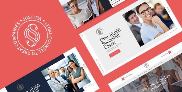 Justitia v1.0.2 - Multiskin Lawyer & Legal Adviser WordPress Theme