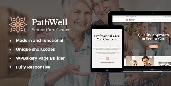 PathWell v1.1.4 - A Senior Care Hospital WordPress Theme