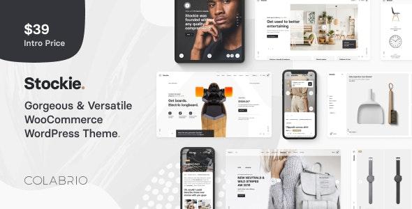 Stockie v1.1.0 - Multi-purpose Creative WooCommerce Theme