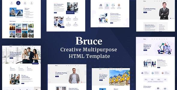 Bruce v1.0.0 - Creative Multipurpose HTML Template