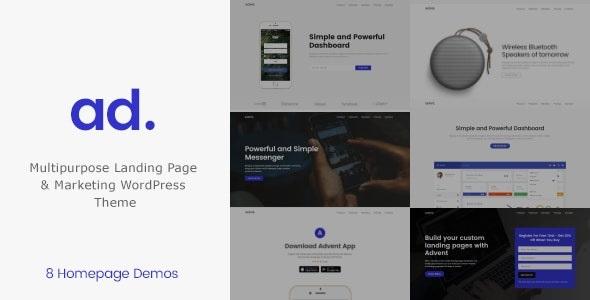 Advent v1.3.2 - Digital Marketing WordPress Theme