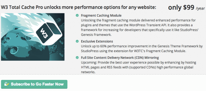 W3 Total Cache Pro v0.14.1 Nulled – WP Cache Plugin