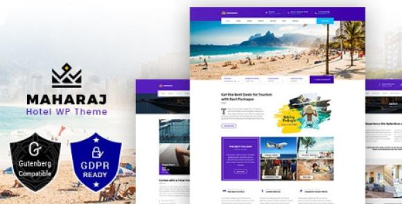 Maharaj Tour v2.3 - Hotel, Tour, Holiday WordPress Theme