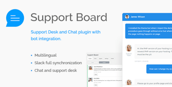 Support Board - Chat And Help Desk v3.1.1