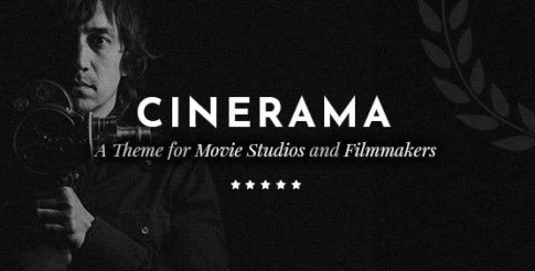 Cinerama v1.9.1 - A Theme for Movie Studios and Filmmakers