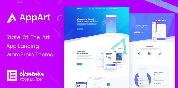 AppArt v2.8 - Creative WordPress Theme For Apps, Saas & Software