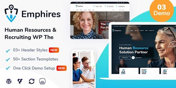 Emphires v2.1 - Human Resources & Recruiting Theme